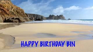 Bin   Beaches Playas - Happy Birthday