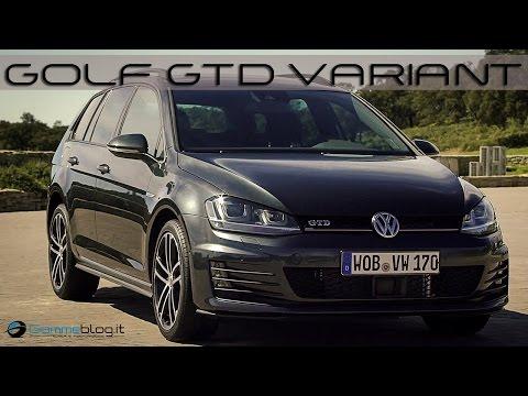 Volkswagen VW Golf GTD Variant   EXTERIOR - INTERIOR DESIGN