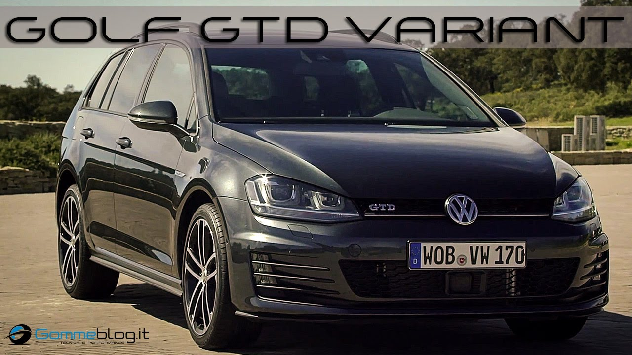 volkswagen vw golf gtd variant exterior interior design youtube. Black Bedroom Furniture Sets. Home Design Ideas