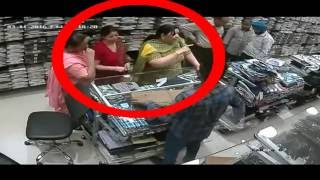 Top women Stealing Videos Compilation- 2 | Theft caught on camera India | CCTV Footage