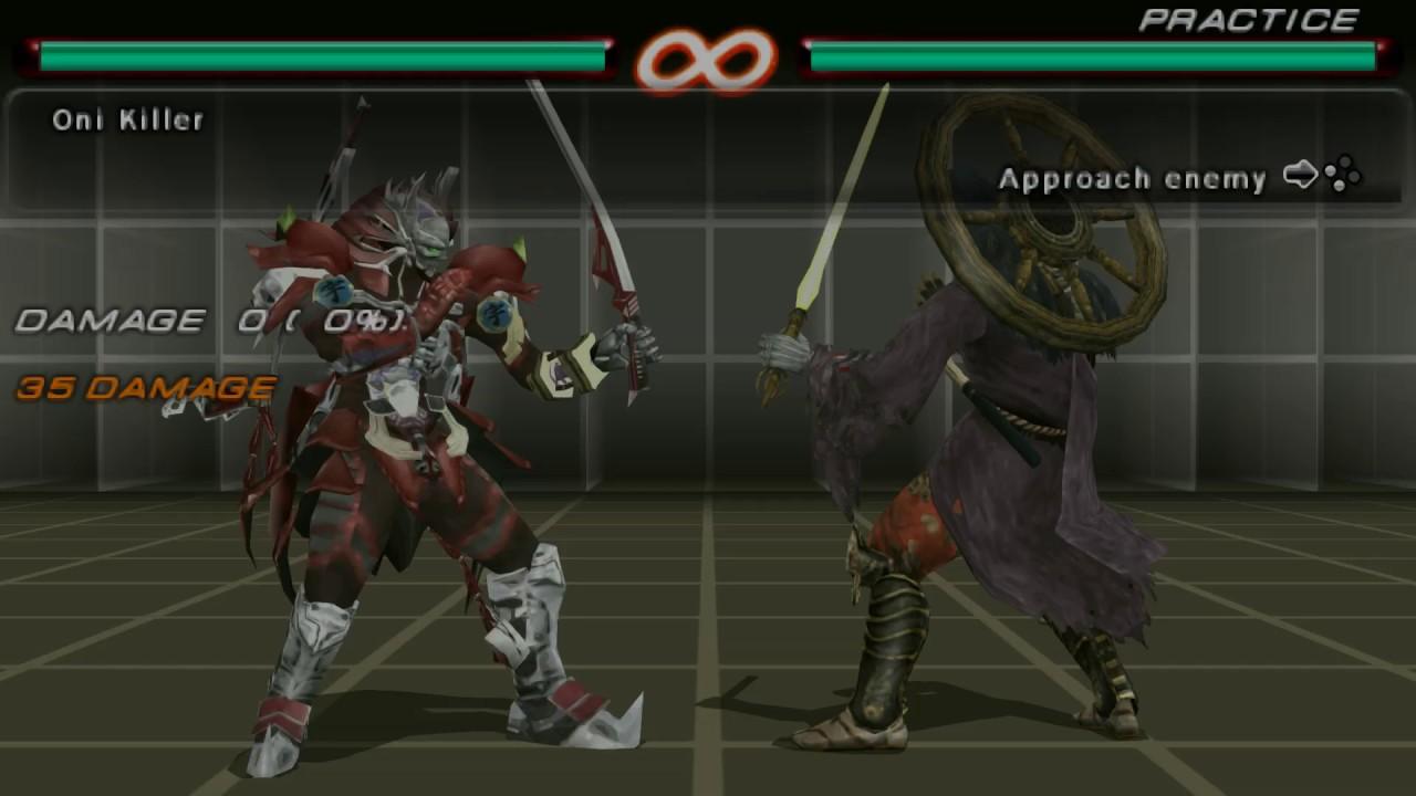 Tekken 6 Yoshimitsu Move List Youtube