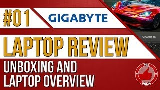 Gigabyte P35W V2 Review #1: Unboxing and Laptop Overview