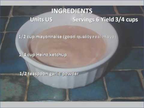 Chicken Finger Dipping Sauce Recipe