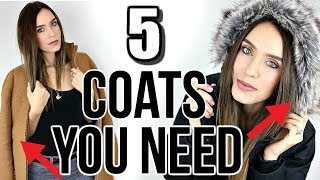 5 Winter Coats Every Woman NEEDS In Their Closet! thumbnail
