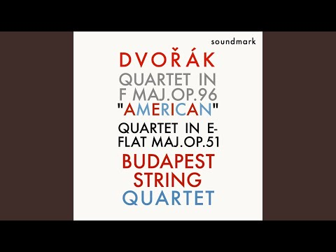"""Quartet No. 6 In F Major, Op. 96 """"American"""" - I. Allegro Ma Non Troppo"""