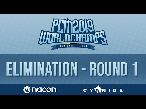 Pro Cycling Manager 2019 World Championships   Elimination Race   Round 1   Group B  