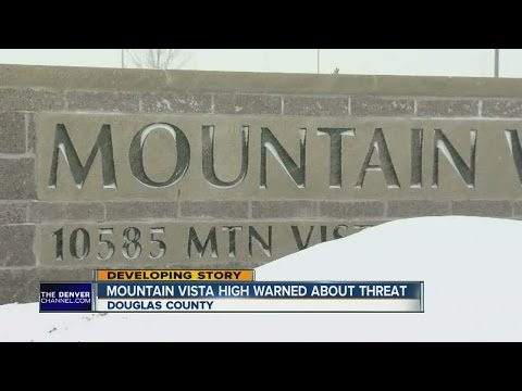 Texted tip stopped Mountain Vista High School threat