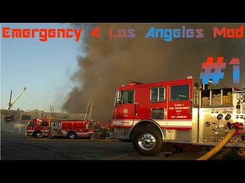 Emergency 4  Los Angeles Mod - Zamach Terrorystyczny #1