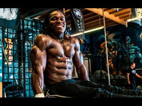 AFRICAN KINGS: Alseny Natural Muscle Monster