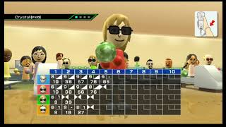 Wii Bowling: 4 Player
