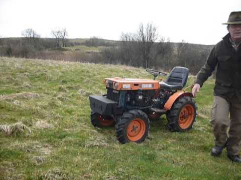 Kubota B6000 4wd Diesel Compact Tractor Youtube