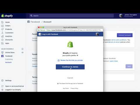How to Add your Shopify Store to your Facebook Page In Seconds