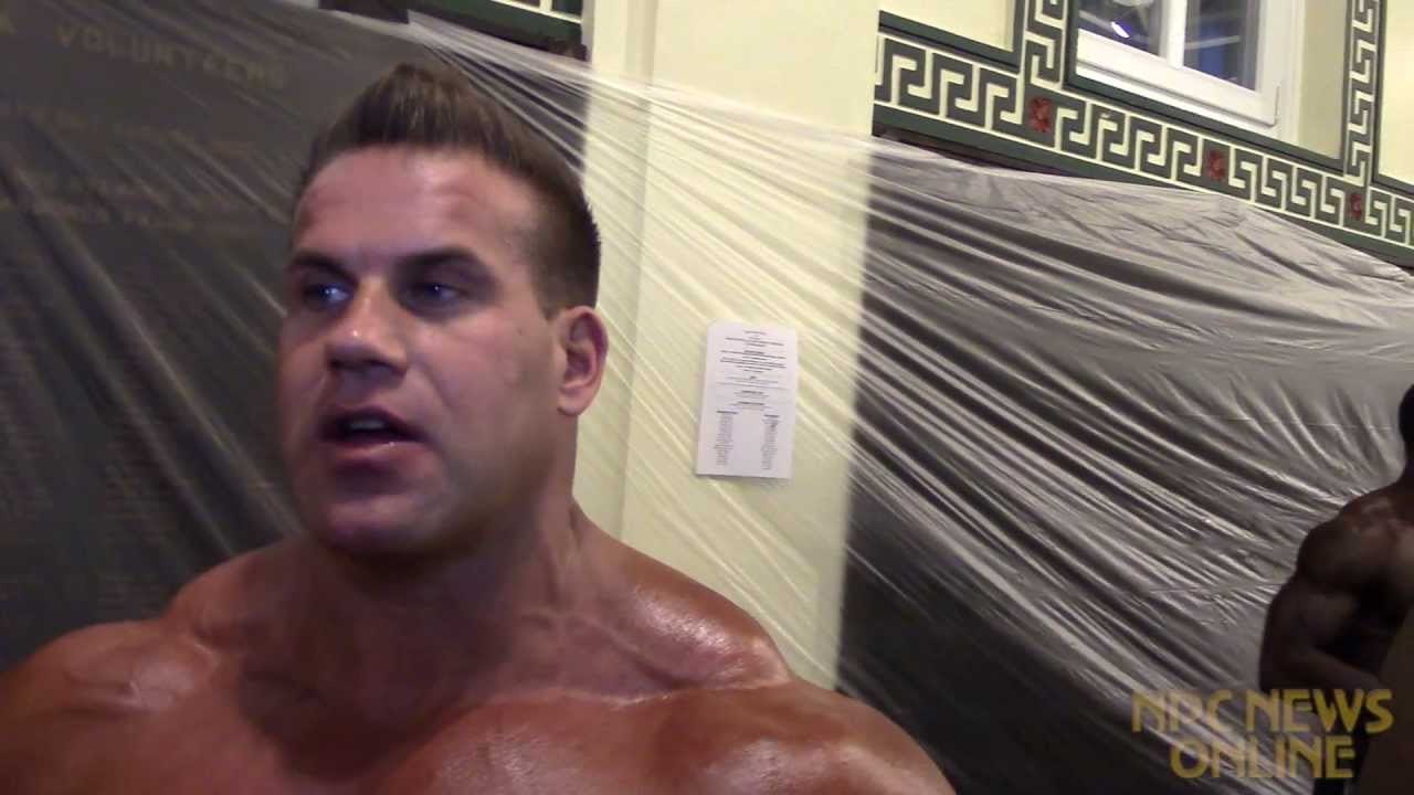 Jay Cutler Backstage at the 2013 NPC/IFBB Pittsburgh ...