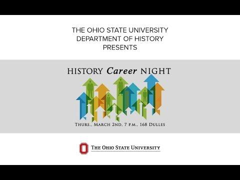 History Career Night at The Ohio State University