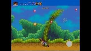Sega Megadrive RGB SCART Capture: Gunstar Heroes, Mega Turrican, Rocket Knight & Flashback