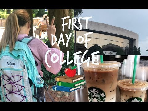 FIRST DAY OF COLLEGE VLOG @ HOFSTRA UNIVERSITY