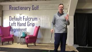 Default Fulcrum of the Top Hand Grip Alignment