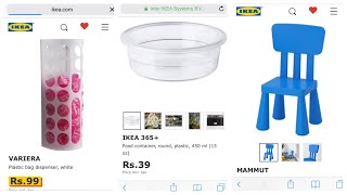 Ikea Hyderabad's online website \ Can we do online shopping from Ikea India?? \ Ikea India tamilil