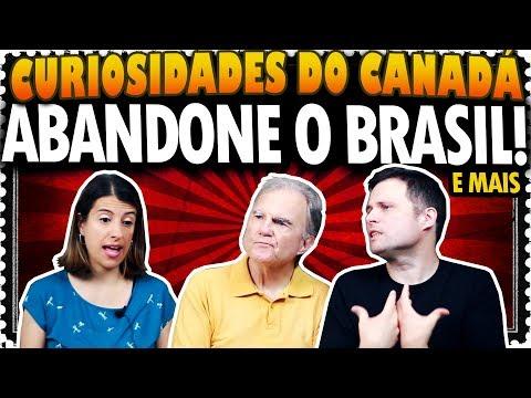 QUEREMOS QUE TODOS ABANDONEM O BRASIL AGORA e mais - CANADÁ DIÁRIO RESPONDE #70
