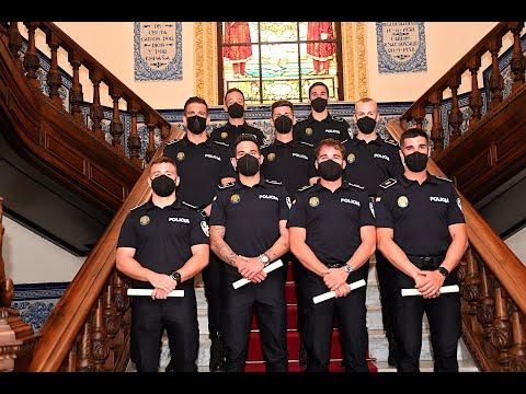 Nueve policías locales toman posesión de su cargo este miércoles