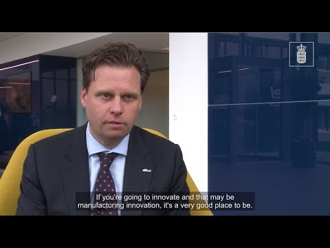 CEO of Marel interviewed by Invest in Denmark