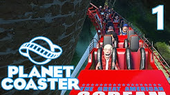 Planet Coaster ALPHA - Part 1 - THIS GAME IS INCREDIBLE!!!!!
