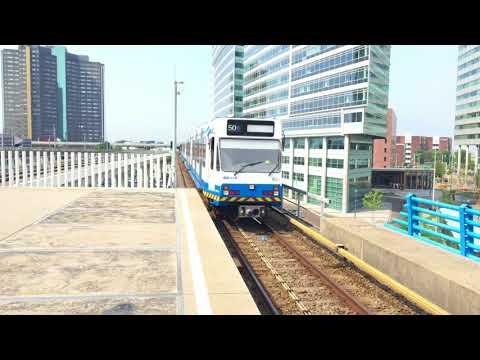 [4K] [UNIEK!] Metro 51 met 50 op de lijnfilm vertrekt uit Amsterdam Sloterdijk!