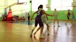 Соревнования школьной баскетбольной лиги «КЭС-Баскет» среди девушек