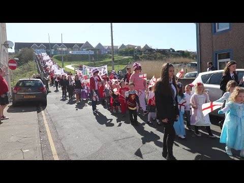 St George's Day Parade 2016
