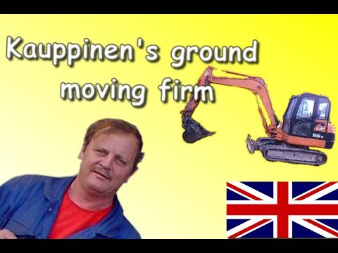 Kauppinen ground moving firm in english