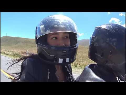 Viaje en moto suzuki en125