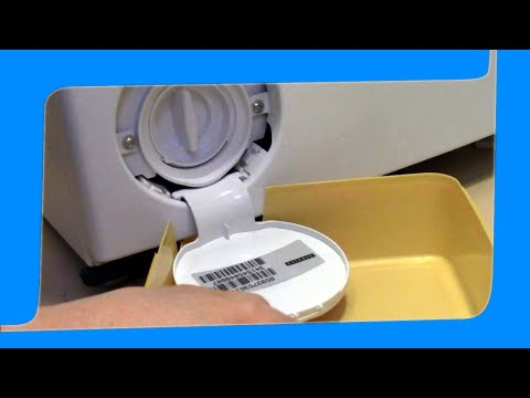 How to clean washing machine lint trap without making a mess