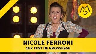 "Nicole Ferroni - ""1er test de grossesse"""