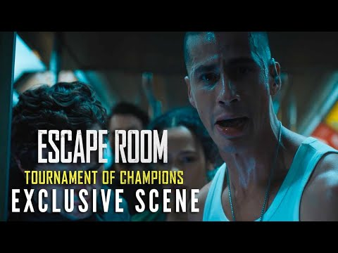 ESCAPE ROOM: TOURNAMENT OF CHAMPIONS – Exclusive Scene   In Theaters Thursday