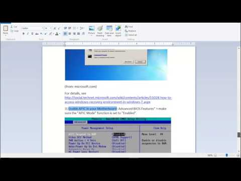 Fix error code 0xc0000225 in Windows 10/8/7