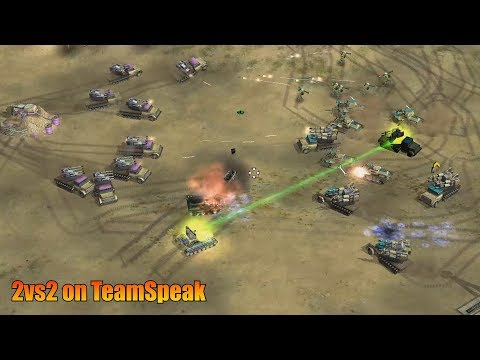 ZH - 2vs2 on TeamSpeak (with Peter) [From Livestream] #01