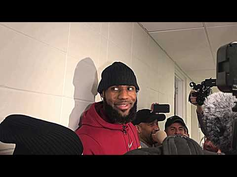 1/8/18: LeBron James discusses Jimmy Butler and the Timberwolves