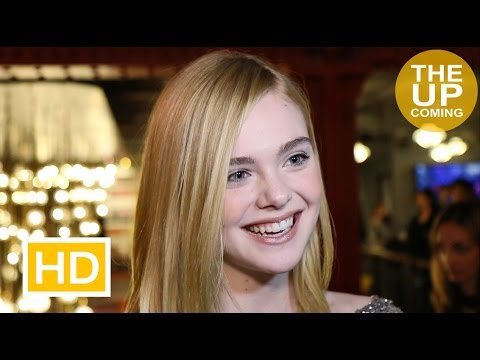 Elle Fanning interview at The Neon Demon premiere on fashion, violence, sex in the movie