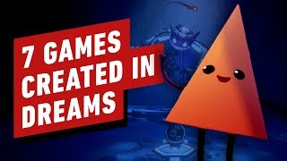 7 Different Games All Created in Dreams