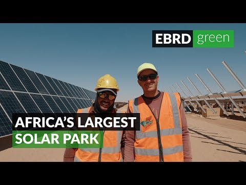 Africa's largest solar park is finished!