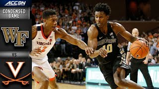 Wake Forest vs. Virginia Condensed Game | 2018-19 ACC Basketball