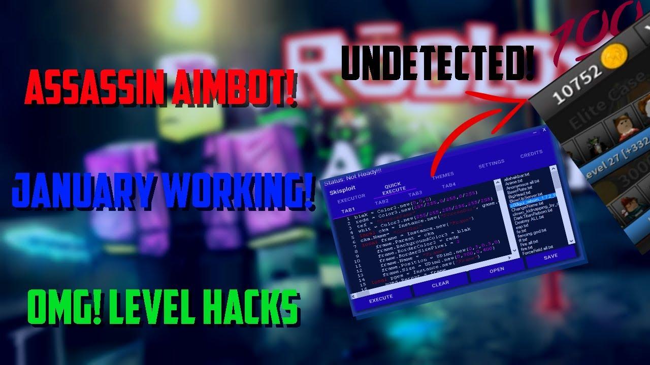 Assassin Aimbot Script Working 2020 2021 Youtube