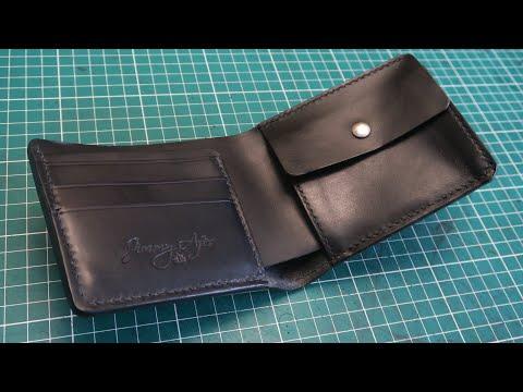 Fabrication D'un Portefeuille En Cuir / Making A Leather Bifold Wallet
