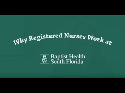 Why Registered Nurses Work at Baptist Health