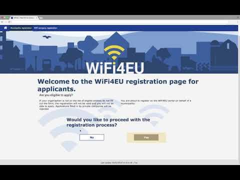 WiFi4EU tutorial on how to apply