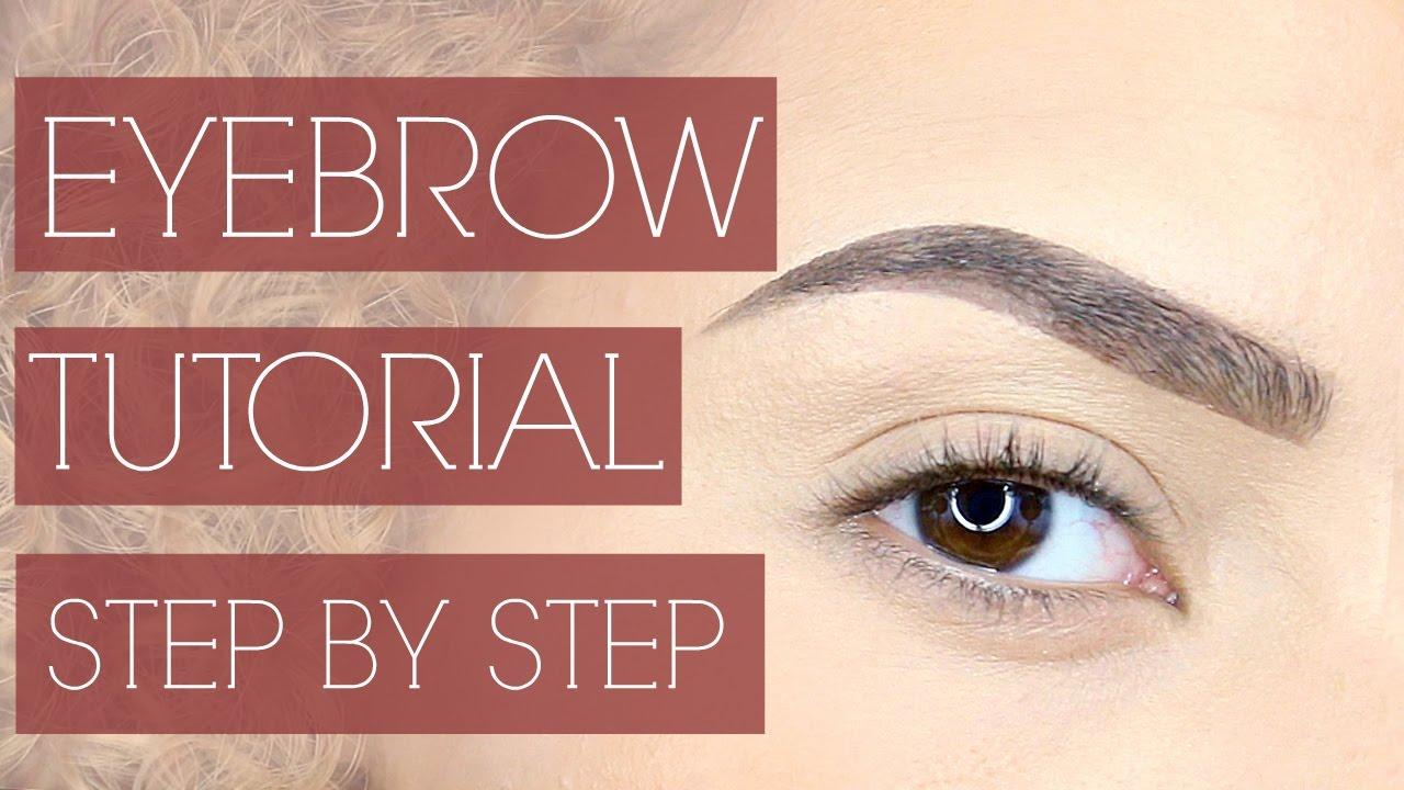 Eyebrow tutorial step by step youtube eyebrow tutorial step by step baditri Images