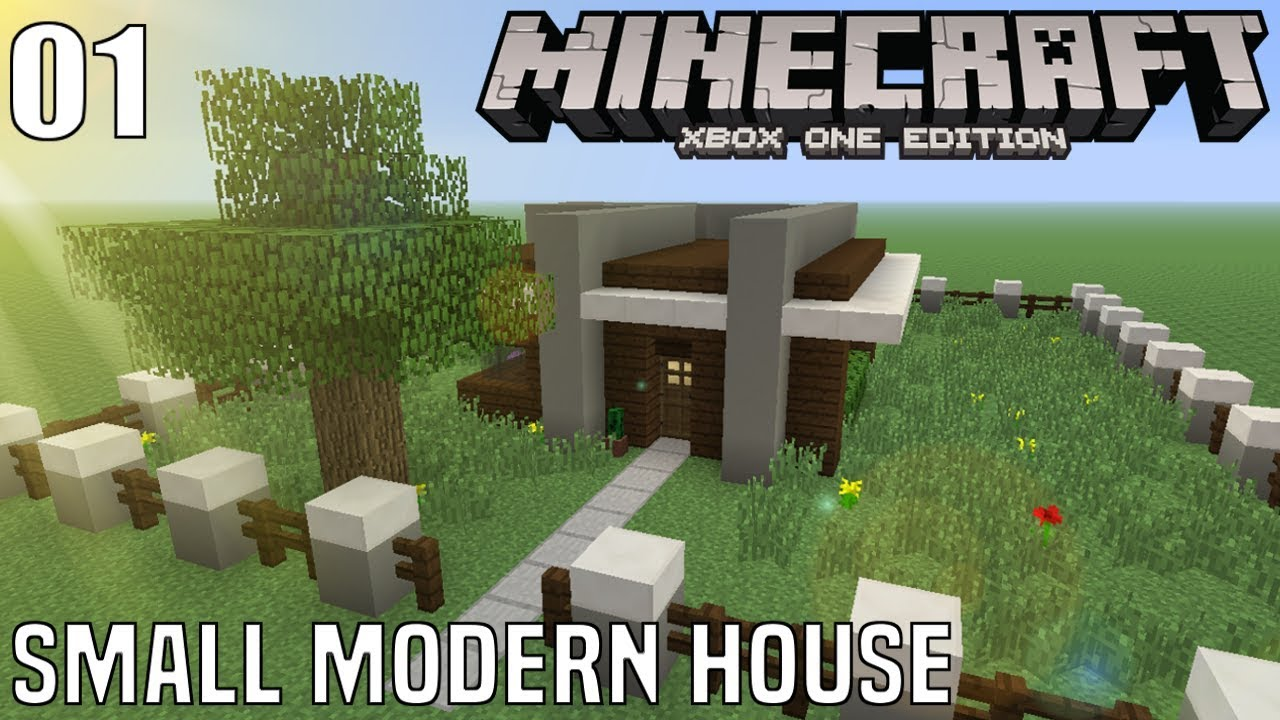 minecraft house tutorial small modern house 1 11x11 lets build