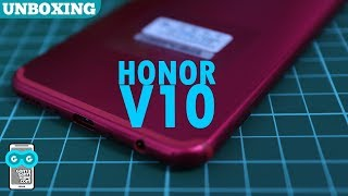 Unboxing RED Huawei Honor View 10 (Honor V10) - MOERNI RATJOEN!