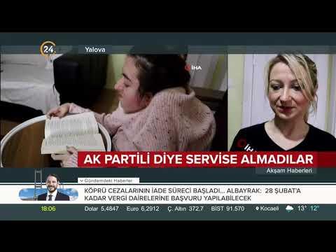 CHP'li belediyeden engelli kıza tehdit
