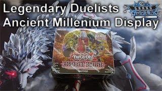 YuGiOh LEGENDARY DUELISTS: ANCIENT MILLENIUM Display Opening (4K)